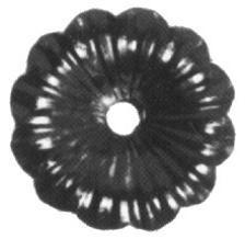 Rosette 3mm, Durchmesser 95mm
