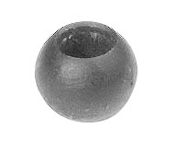 Massivkugel 10mm, Durchgangsbohrung 4mm