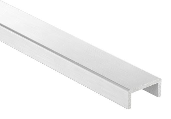 Aluminium-U-Profil, 30 x 14 x 3mm, Länge: 6000mm