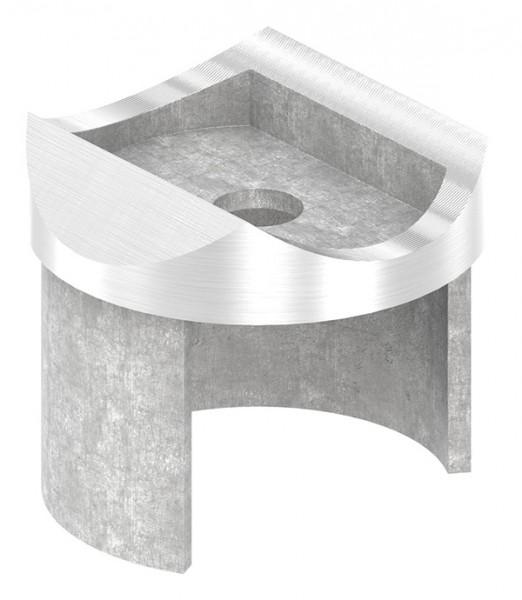 Adapter für Nutrohr-Anschluß 48,3mm