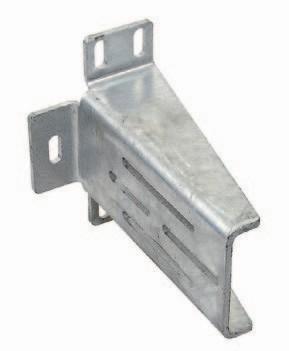 Konsole für Einlaufschuh / Gabel große Ausführung 220mm