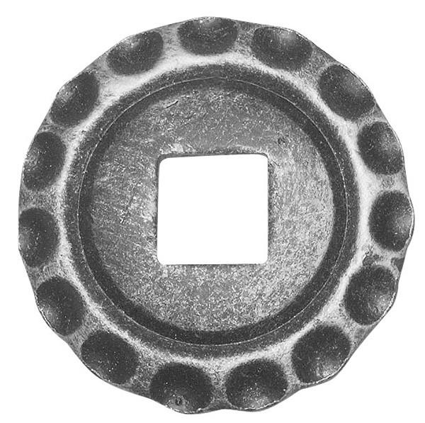 Bodenrosette 5mm, Durchmesser 75mm