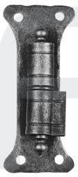 Torkegel mit Anschraubplatte und Messingring