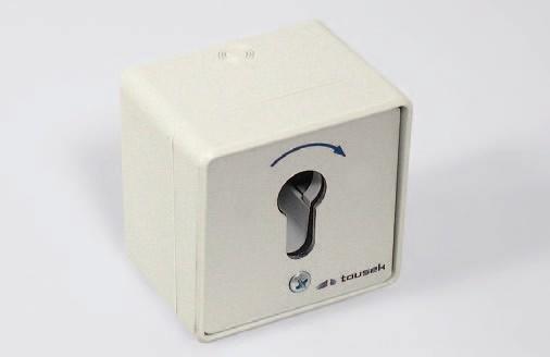 Schlüsselschalter MP-APZ/1-1T (AP/UP)