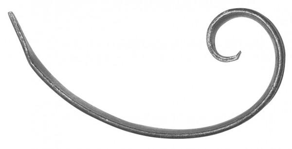 Ländliches Barock Schnörkel 15x4mm, 125x210mm