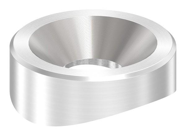 Ausgleichsstück für Rohr 42,4mm, Durchmesser 22mm, V2A