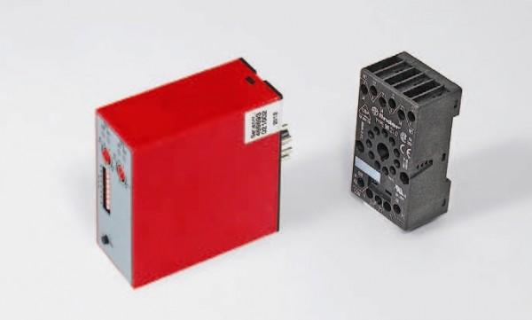 I-Schleifendetektor ISD-5/2 2-Kanal mit Stecksockel