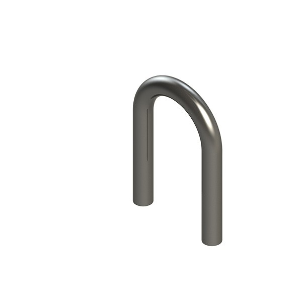 Stahl-Rohr-Bogen 180°, 33,7x2,5mm