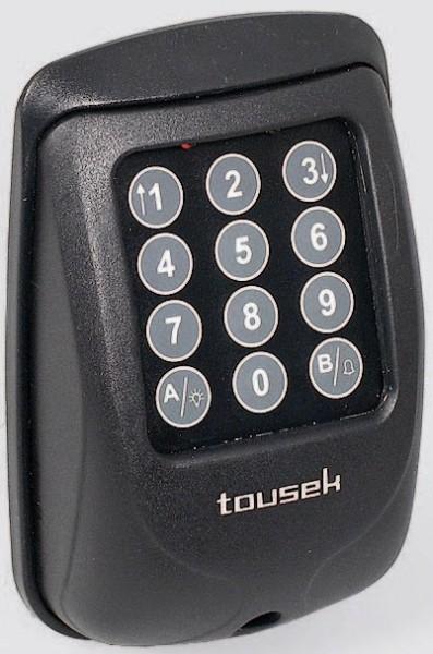 Funkcodeschloss TORCODY RS 433 Gehäusefarbe schwarz