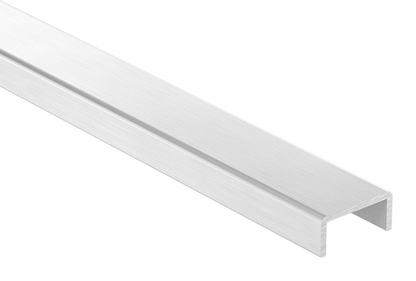 Aluminium-U-Profil, 26 x 12 x 2mm, Länge: 6000mm
