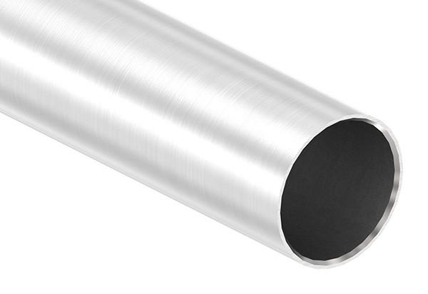 Edelstahlrohr, 42,4 x 2,0mm, Länge: 3000mm, nahtlos