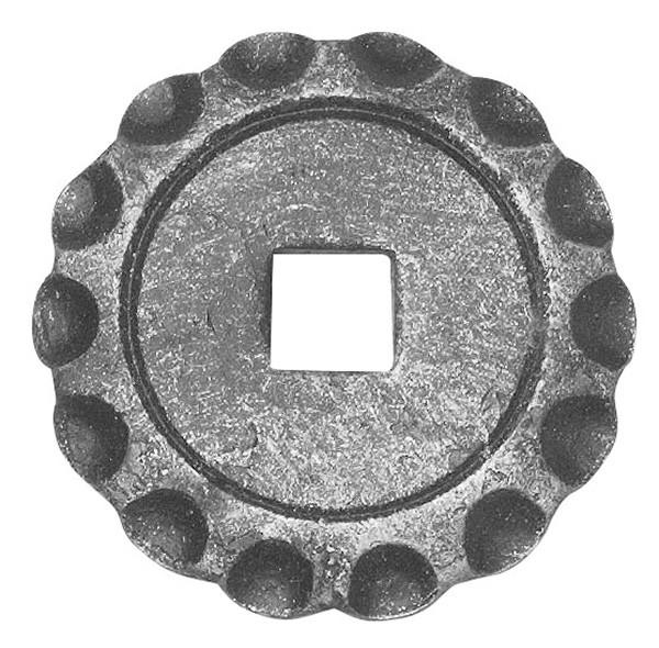 Bodenrosette 5mm, Durchmesser 65mm