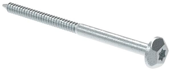 Sicherheitsschraube 7x105 Stahl verzinkt