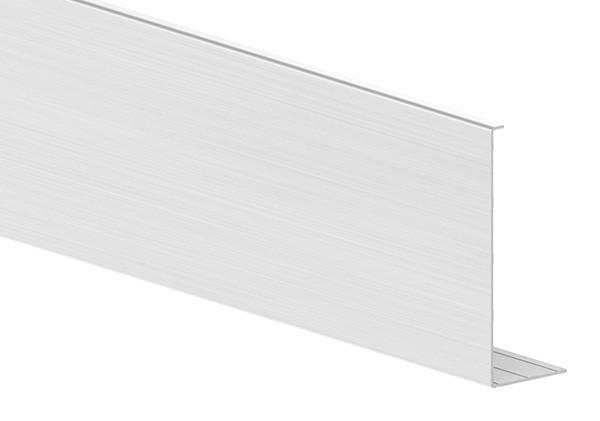 Abdeckung für Alu-Profil ELEGANZA LIGHT zur seitlichen Montage, Länge: 6000mm