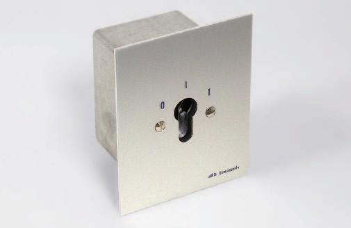 Schlüsselschalter J-EPZ 1-1R