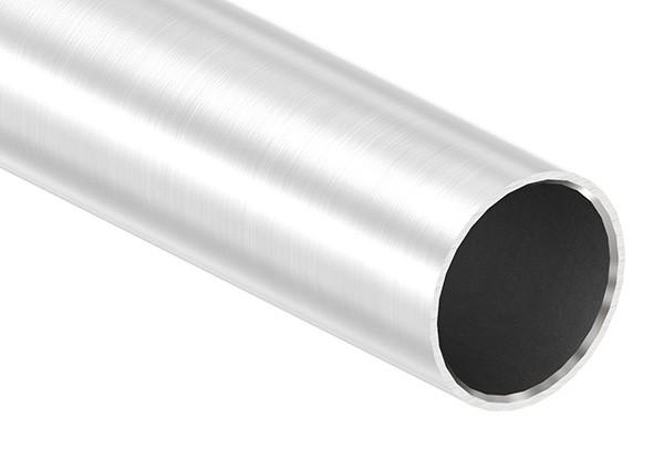 Edelstahlrohr, 42,4 x 2,5mm, Länge: 6000mm, nahtlos