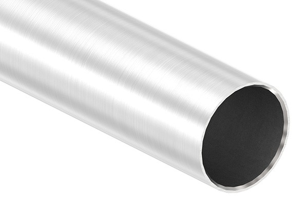 Edelstahlrohr, 42,4 x 2,0mm, Länge: 6000mm