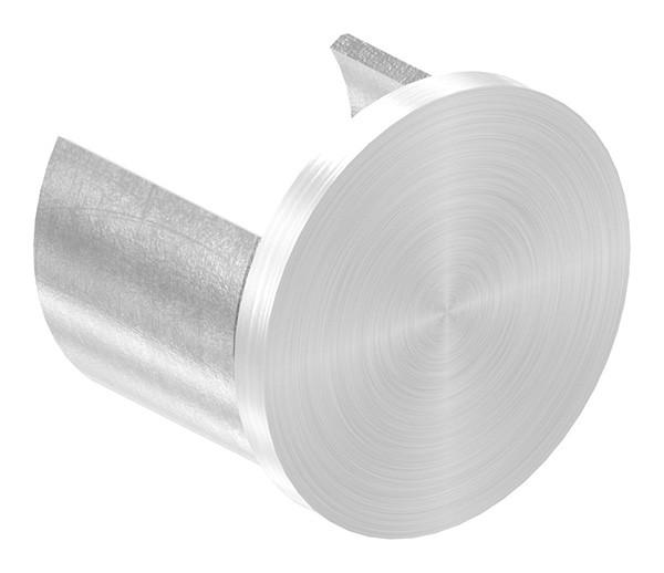 Endkappe, flach, für Nutrohr 48,3mm