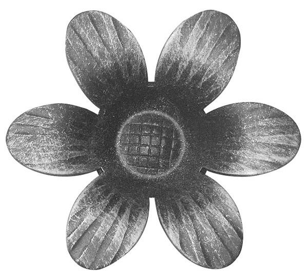 Rosette 2mm, Durchmesser 90mm