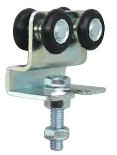 Doppellaufrolle mit Nylonrollen, passend zu Schiene 339/P