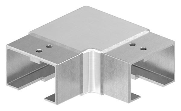 """Eckbogen horizontal für Nutrohr 60x40mm """"Verlaufsecke"""""""