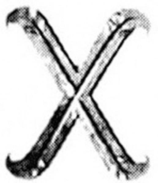 Buchstaben x