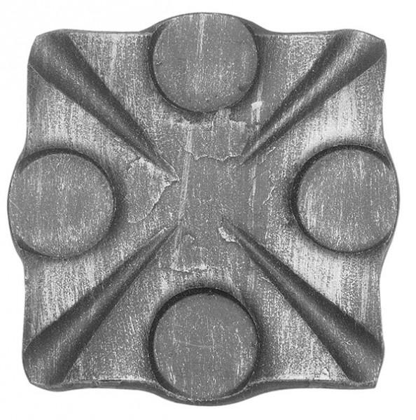 Rosette 8mm, Durchmesser 90x90mm