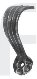 Zierhalter, 110x40mm