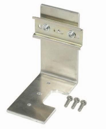 Winkel inkl. DIN-Hutschiene PULL T5, T8, T10, T15