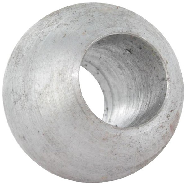 Massivkugel 30mm, Durchgangsbohrung 14,3mm