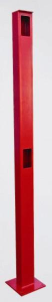 GSB Standsäule, rot lackiert, für LKW/PKW