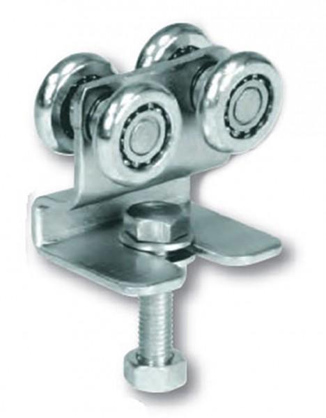 Doppellaufrolle mit Kugellager, passend zu Schiene 339/P