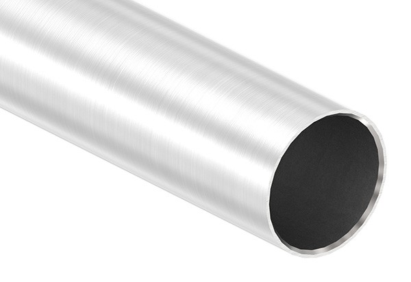 Edelstahlrohr, 42,4 x 2,0mm, Länge: 6000mm, nahtlos