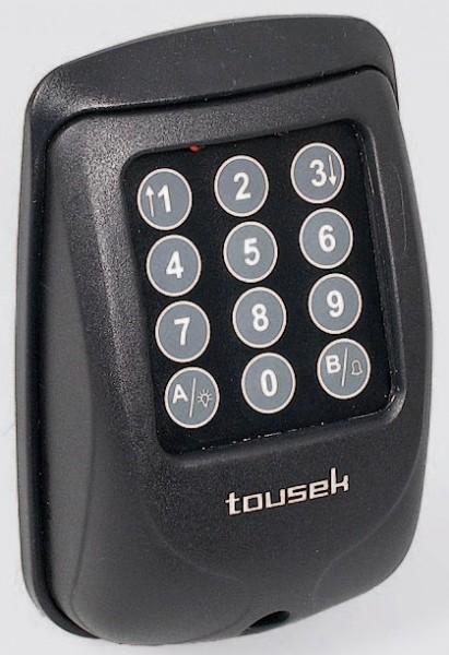 Funkcodeschloss TORCODY RS 868 Gehäusefarbe schwarz