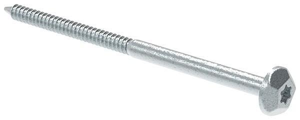 Sicherheitsschraube 7x120 Stahl verzinkt