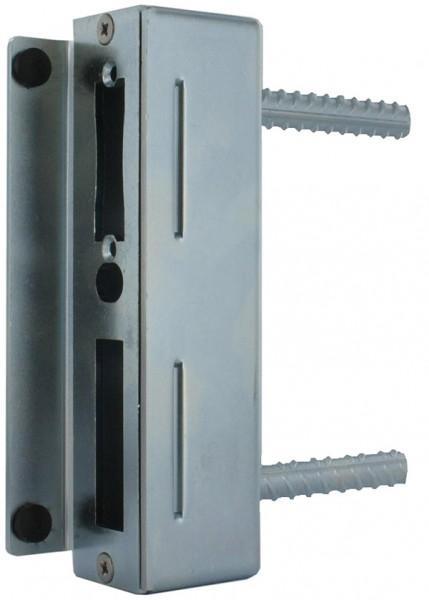 Gegenkasten verzinkt 30 x 45 x 173mm, mit verzinktem Schließblech