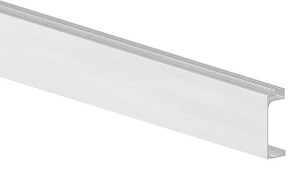 Abdeckung für Alu-Profil ELEGANZA zur seitlichen Montage, Länge: 6000mm