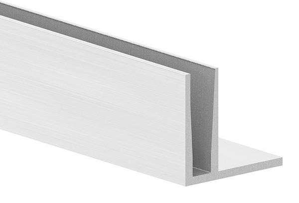 Alu-Profil ELEGANZA LIGHT zur aufgesetzten Montage, Länge: 6000mm
